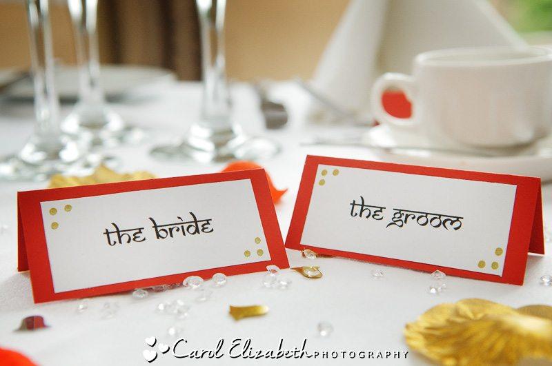 Wedding photographer in Oxfordshire - beautiful wedding details