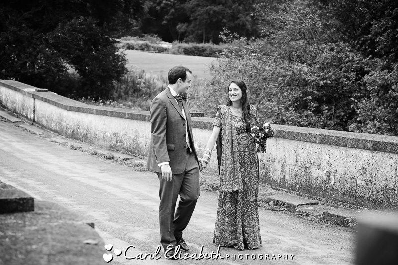 Professional wedding photographer at Heythrop Park weddings