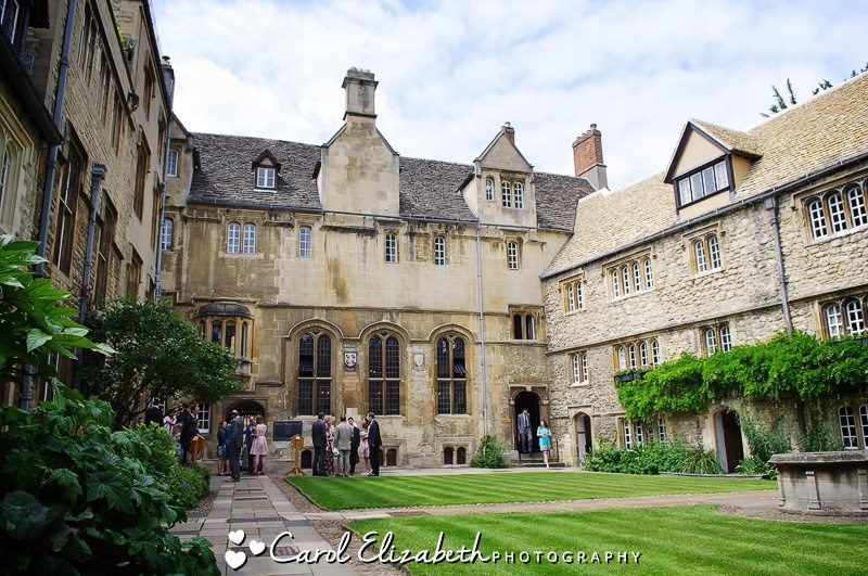 Oxford College wedding photographers