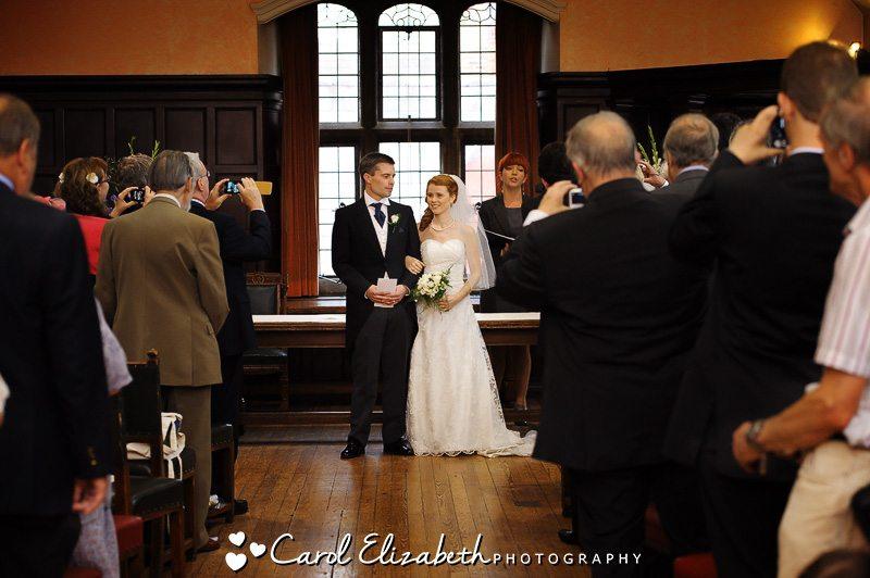 Oxford Town Hall wedding photographers