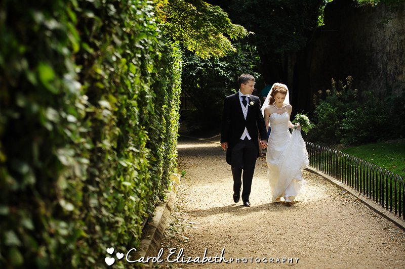 Oxford College wedding at University College Oxford wedding of Elly and John by Carol Elizabeth Photography