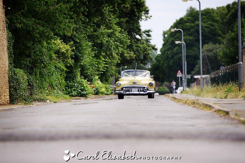 Oxfordshire vintage wedding cars
