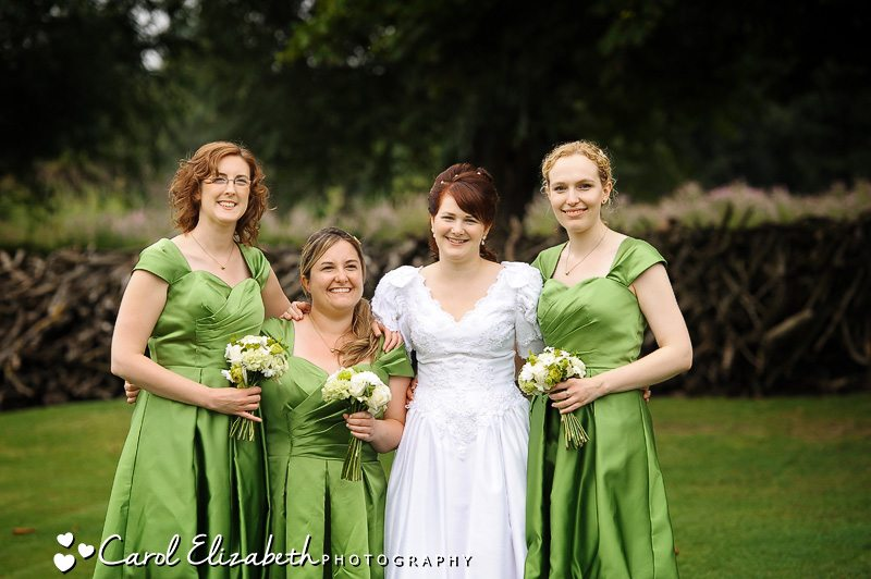 Oxfordshire Wedding reception at Isis Farmhouse