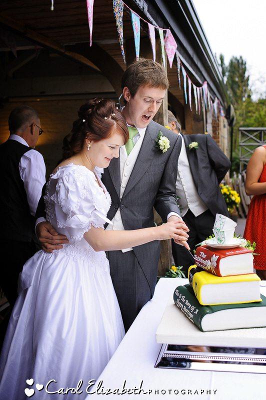 Oxfordshire Wedding reception at Isis Farmhouse