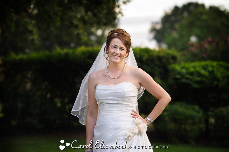 bridal portrait - wedding photographer in oxfordshire