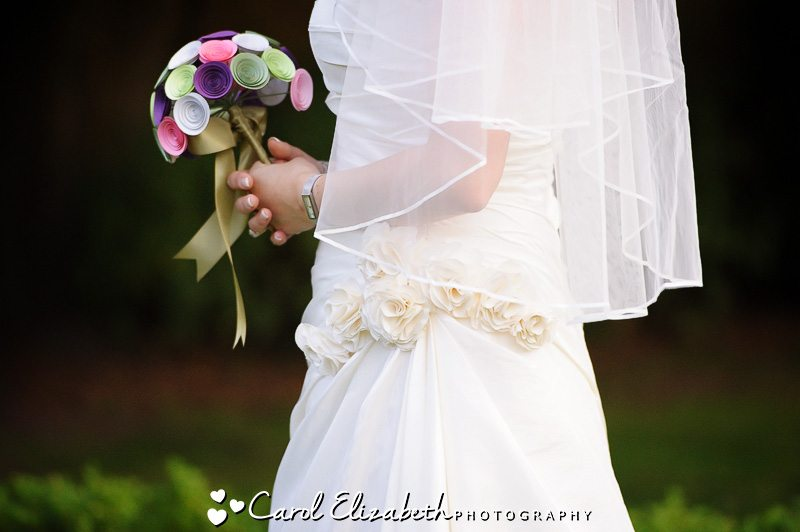 bridal bouquet in oxford wedding photography