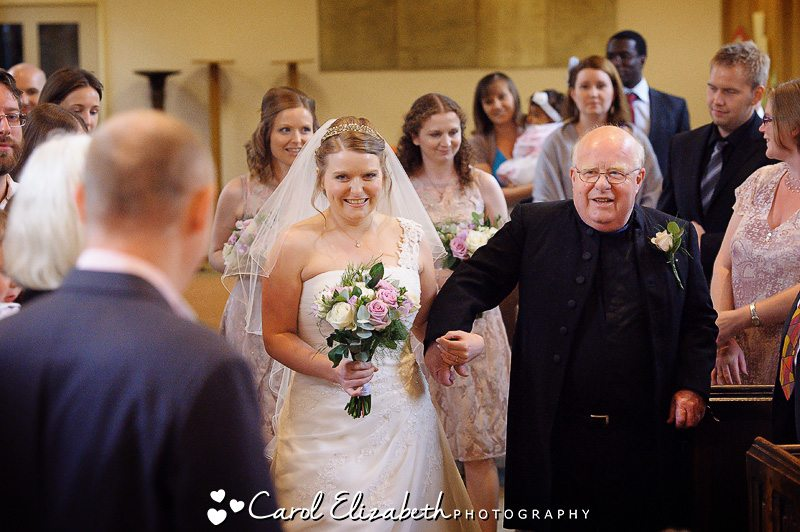 Church wedding service in Oxford