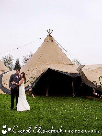 Oxford marquee wedding