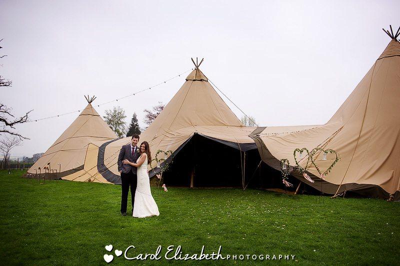 Oxford marquee wedding