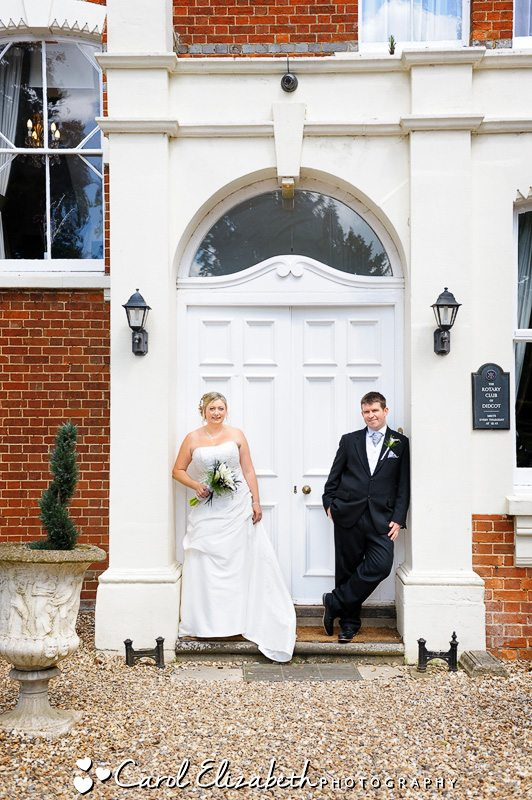 Wedding at Steventon House - classical wedding photography in Oxford - Abingdon wedding photographer