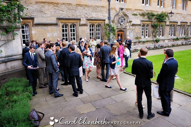 Oxford University weddings in a natural and relaxed style - Oxford College wedding at Oriel College