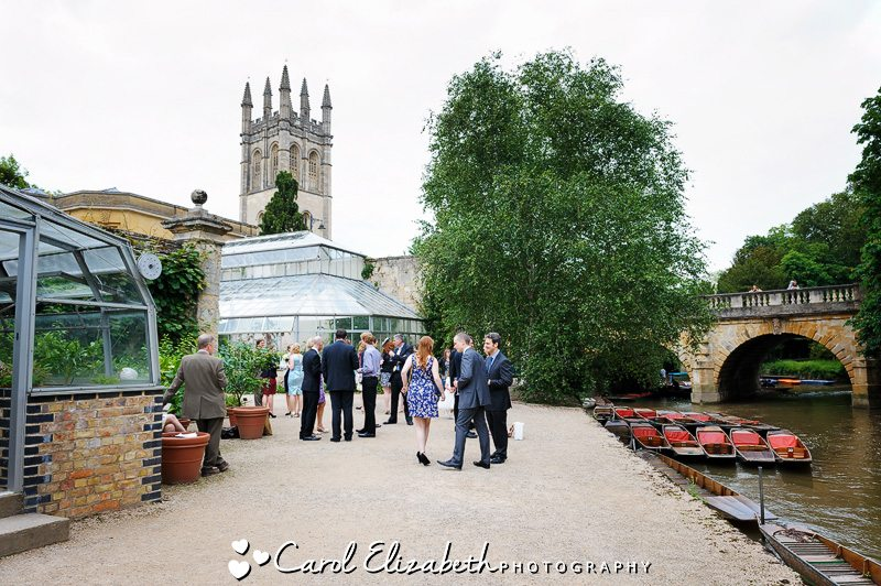 Oxford Botanical gardens wedding reception - Carol Elizabeth Photography