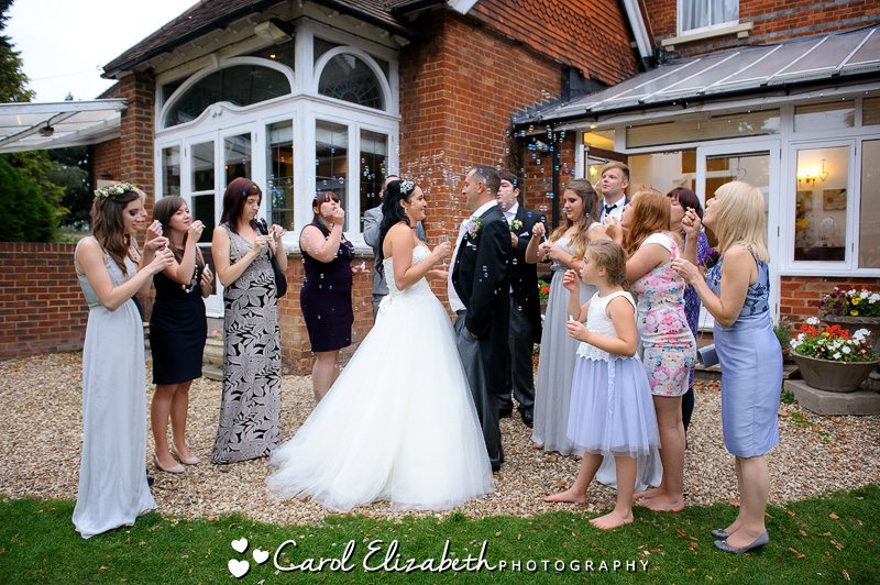 Steventon House weddings - informal and natural wedding photography