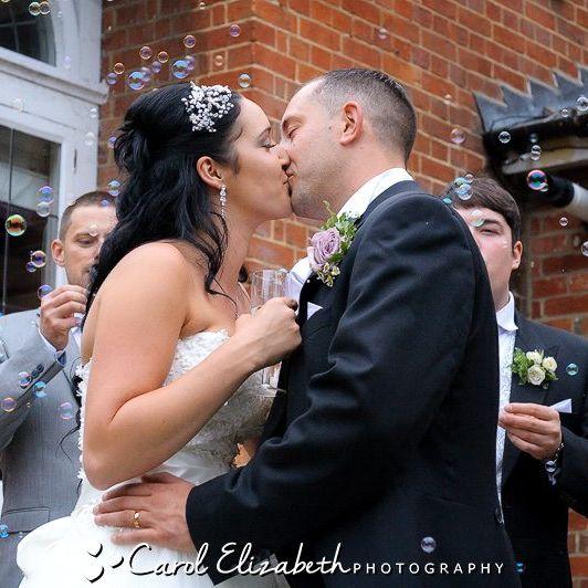 Steventon House weddings - informal and natural wedding photography