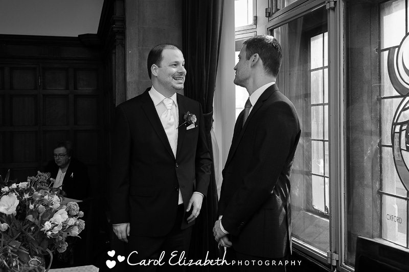 Oxford Town Hall Wedding photographer