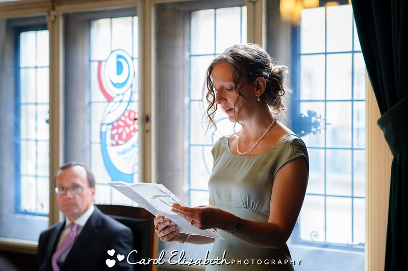 Oxford Town Hall wedding ceremonies