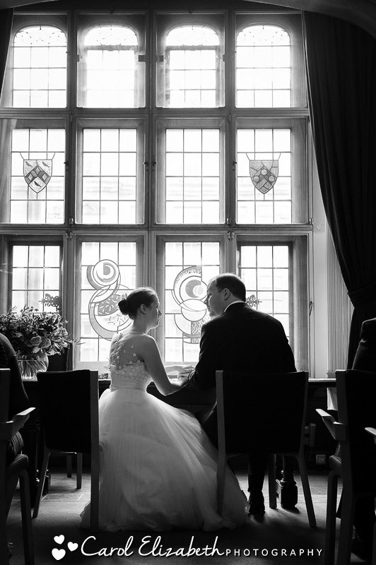 Wedding ceremony at Oxford Town Hall