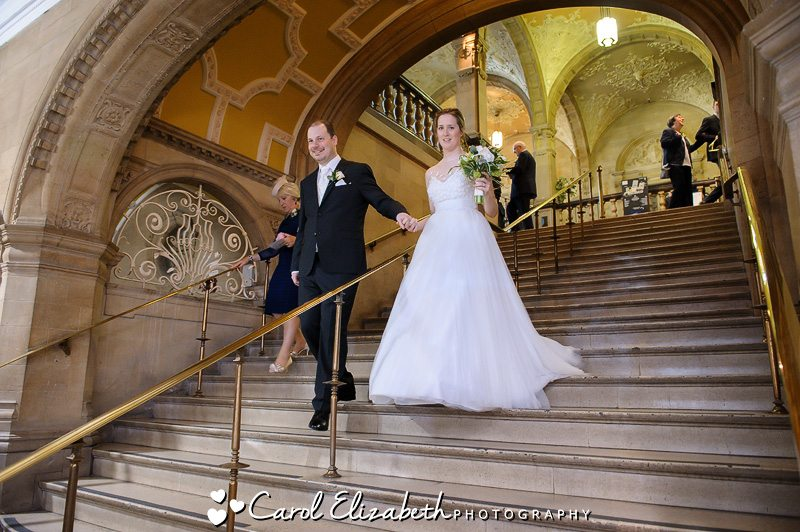 Wedding at Oxford Town Hall - Carol Elizabeth Photography