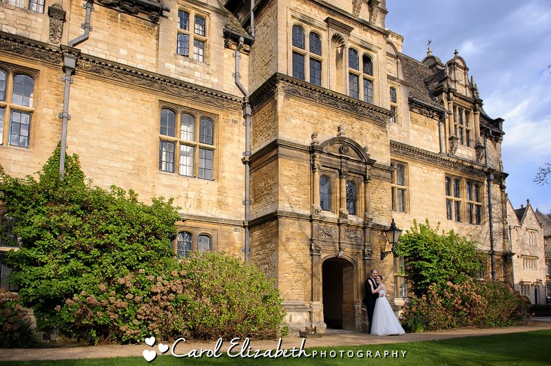 Professional wedding photography at Trinity College