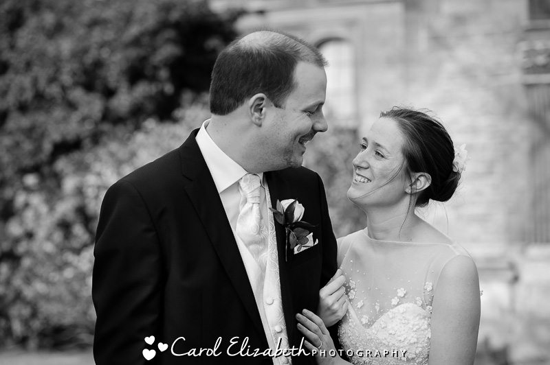 Reportage wedding photography at Oxford College