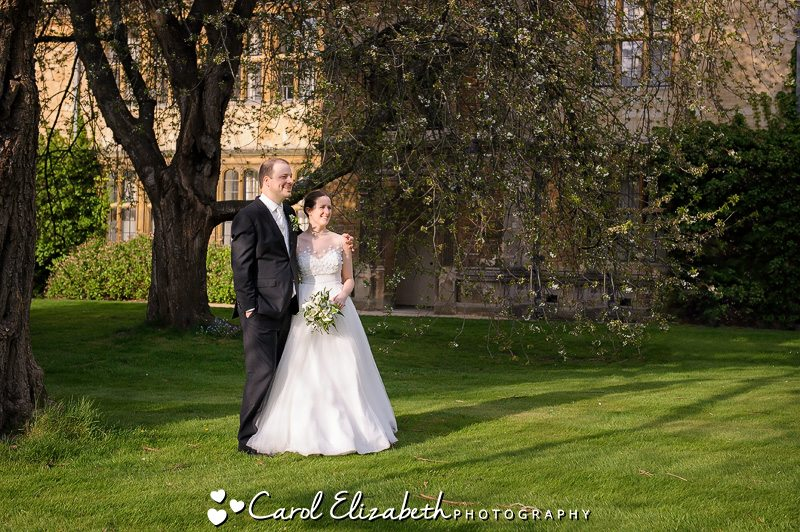 Natural wedding photography at Trinity College