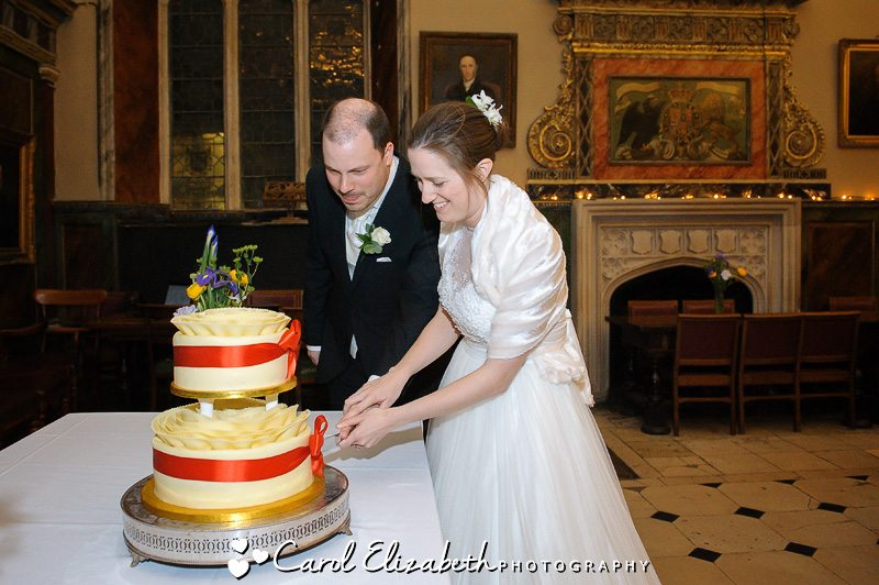 Trinity college wedding at Oxford University - wedding cake