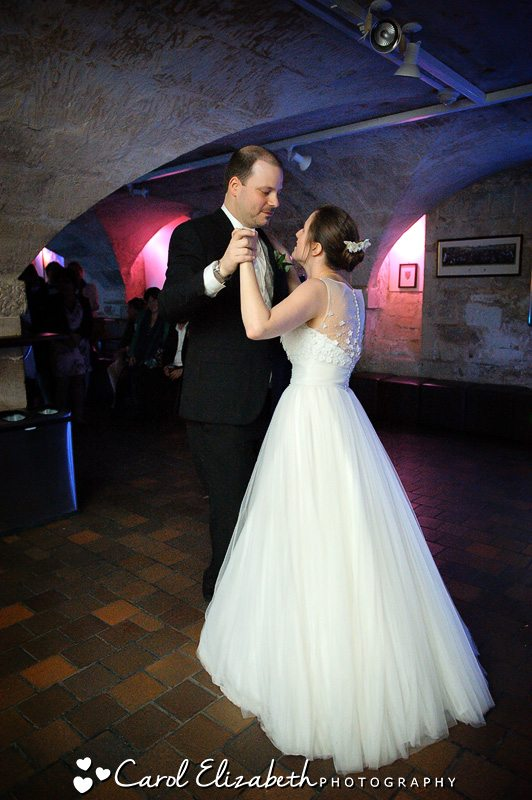 First dance - weddings at Trinity College