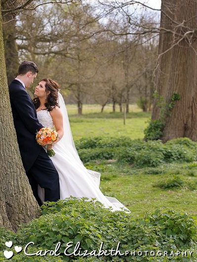 Weddings at Milton House House Hotel on a gorgeous spring day