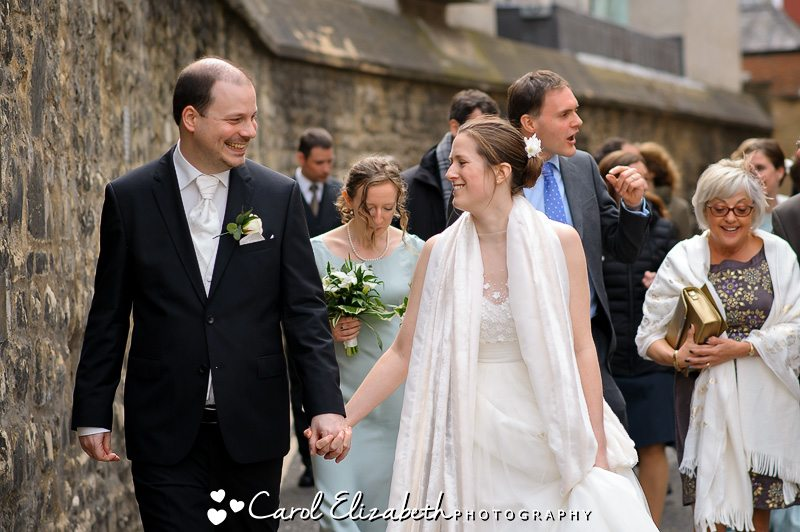 Reportage wedding photographer in Oxfordshire