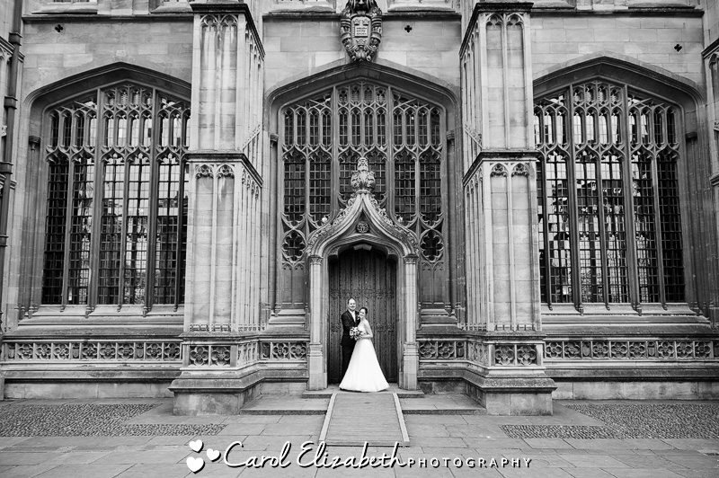 Wedding at the Bodleian Library - wedding photographer in Oxfordshire