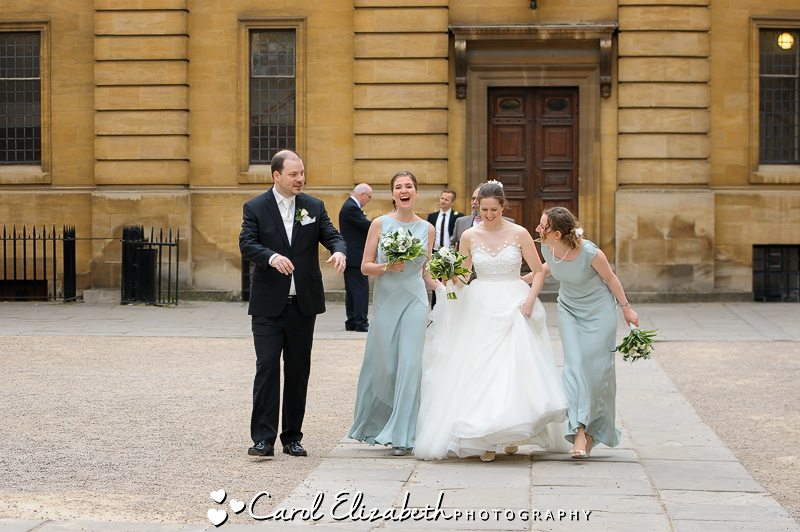 Wedding at the Bodleian Library - Oxford wedding photographer