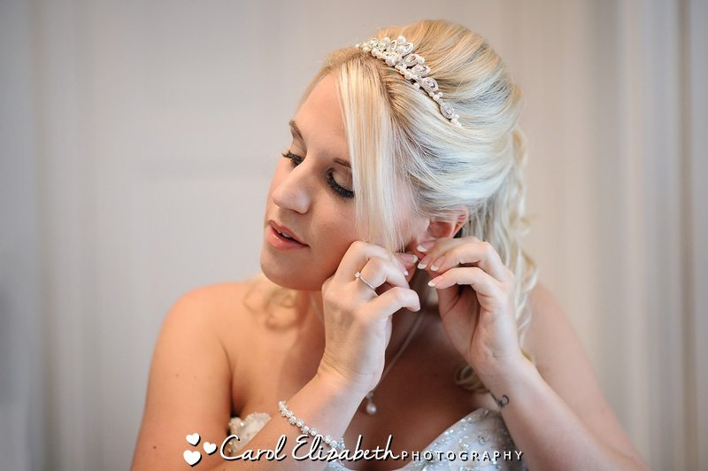 Bridal preparations in Oxfordshire