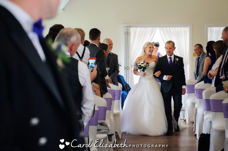 Steventon House Hotel wedding ceremony