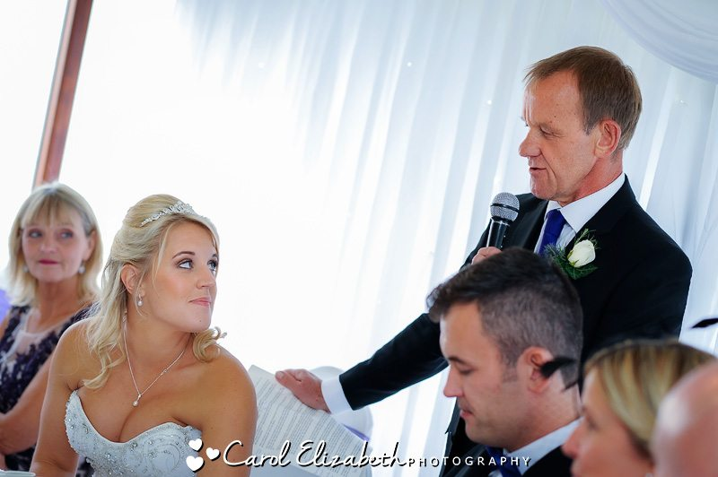 Steventon House Hotel wedding speeches