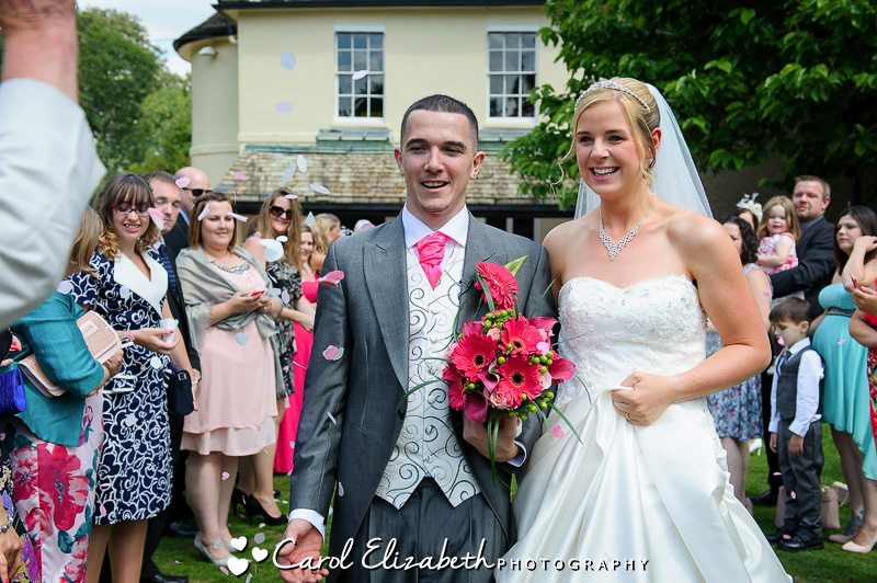 Sudbury House wedding confetti