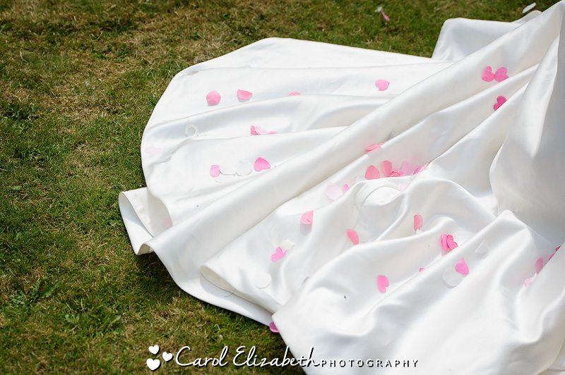 Sudbury House wedding confetti