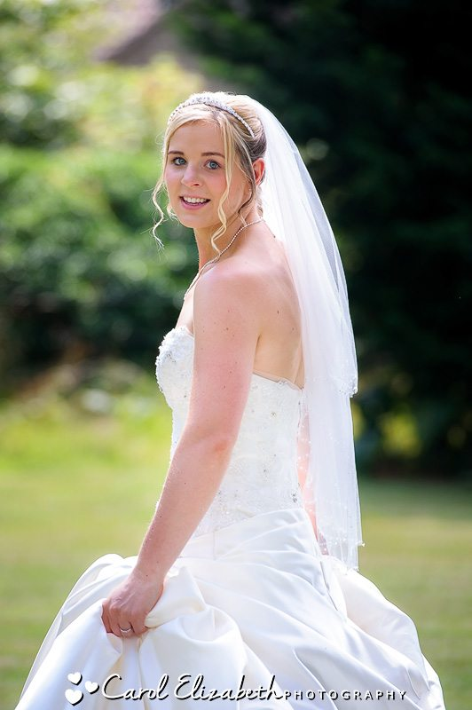 Wedding photographer at Sudbury House Hotel - Carol Elizabeth Photography