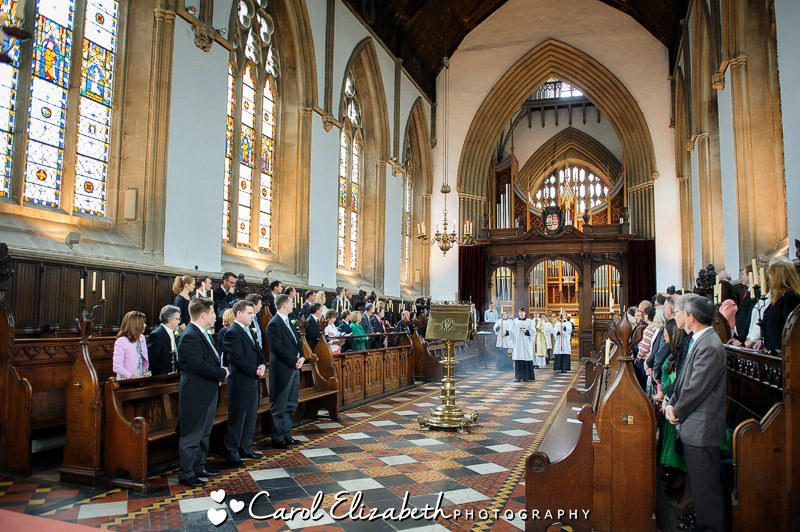 Photography for Oxford College weddings