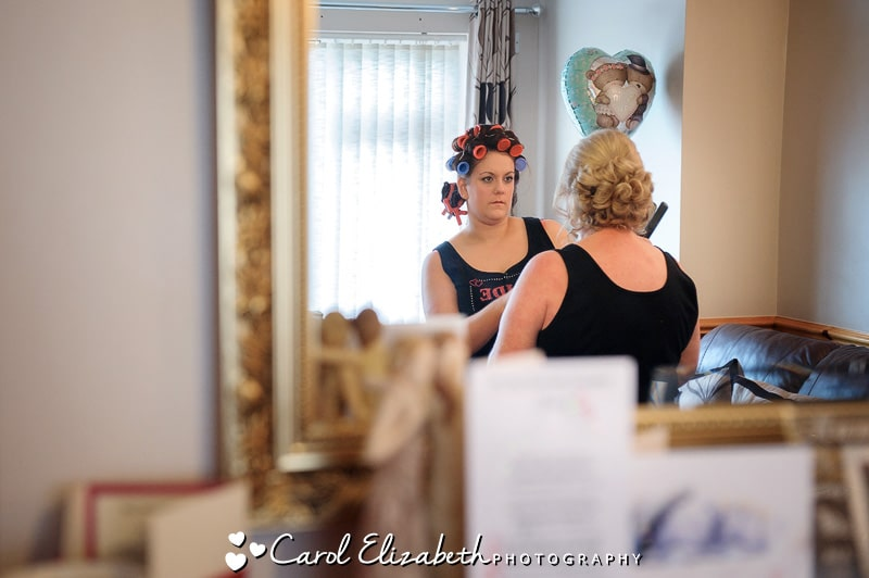 Professional wedding photographer at Steventon House in Oxfordshire