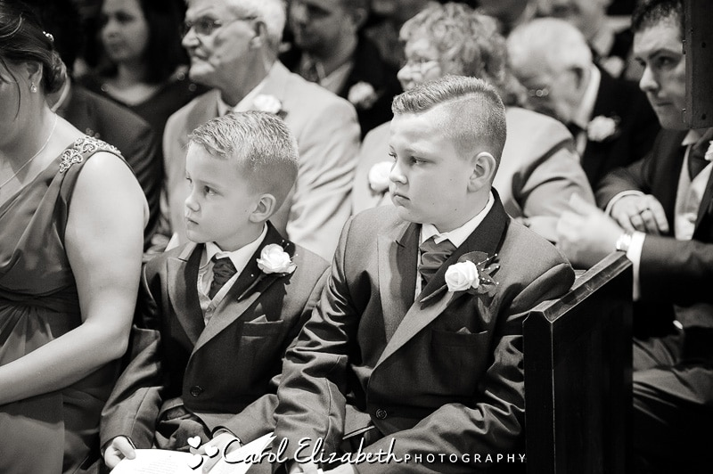 Wedding pageboys