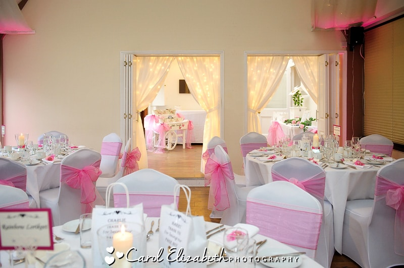 Steventon House wedding reception room
