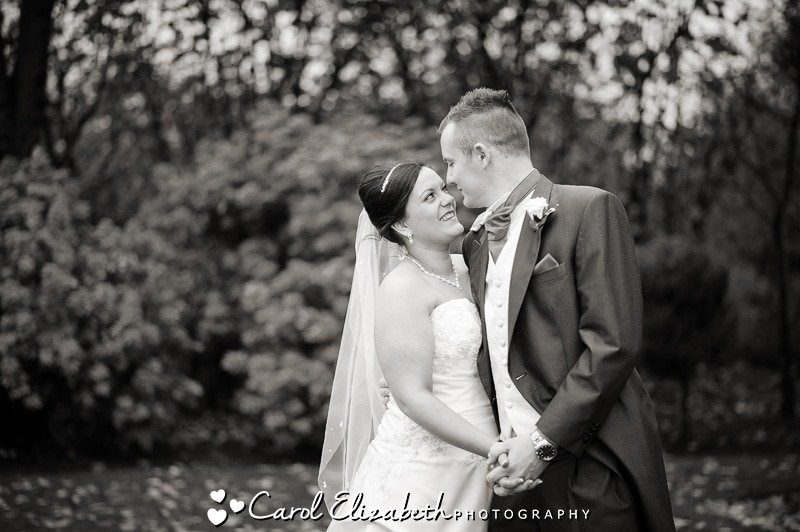 Informal wedding photography at Steventon House Hotel