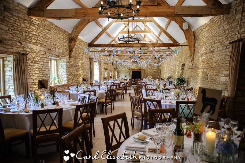 Caswell House wedding reception