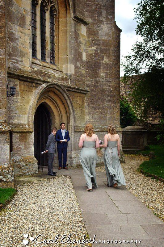 Wedding at Lechlade church