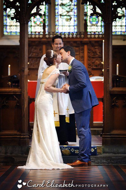 Church wedding photographer in Gloucester
