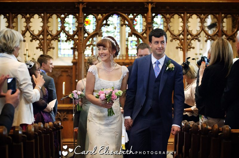 Wedding photographer Lechlade church