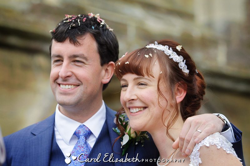 Church wedding photography in Gloucester