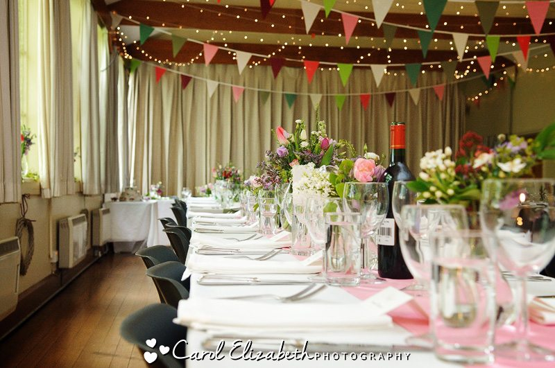 Southrop village hall wedding