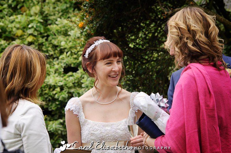 Reportage wedding photographer in Gloucestershire