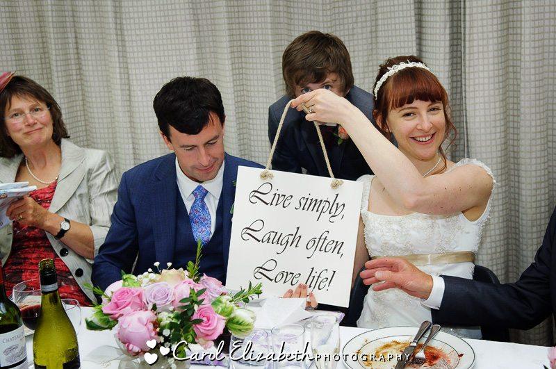 Informal wedding photographer in Southrop